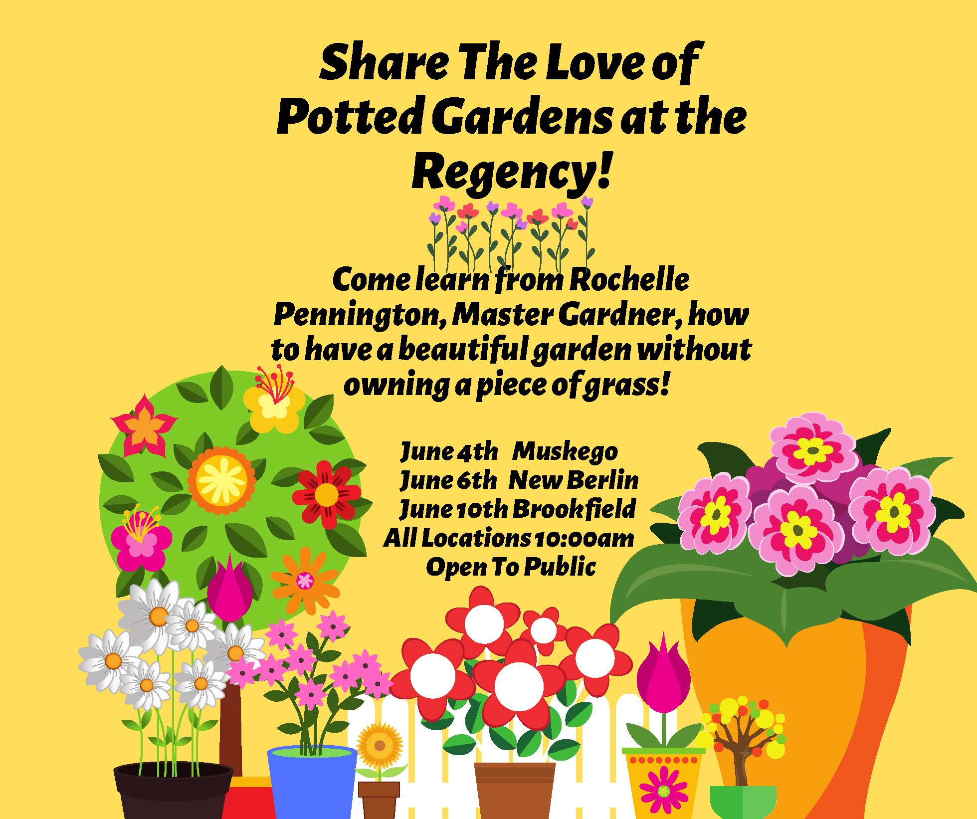 Rochelle Pennington Presents Love of Gardening with Pots only... (1).jpg